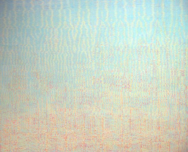 David Whitaker, Fata Morgana in Search of Moby Dick, 1976, oil on canvas, 211 x