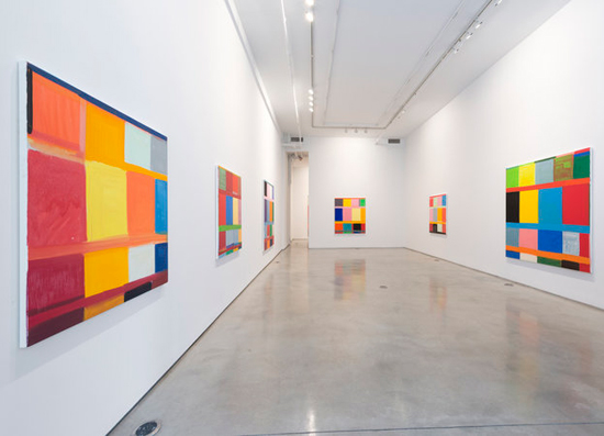 Installation View, Stanley Whitney: Other Colors I Forget at Team Gallery, New Y