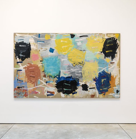 Stanley Whitney, Sixteen Songs, 1984, oil on linen, 66 x 108 inches (courtesy of
