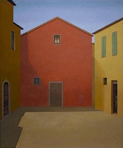William Bailey, Empty Stage II, 2012 (courtesy Betty Cuningham Gallery)