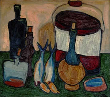 William H. Johnson, Still Life, 1938