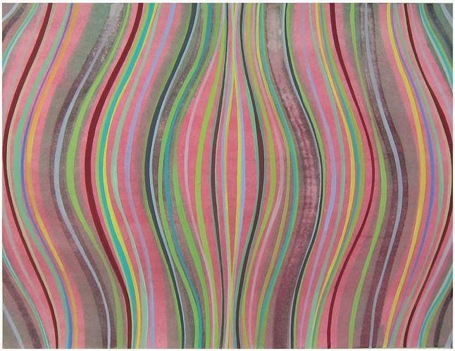 Helen Miranda Wilson, Raga, 2009, gouache on paper, 8 x 10 inches (courtesy of A