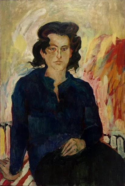 Jane Wilson, Portrait of Jane Freilicher, 1957 (photo: Joanne Mattera)