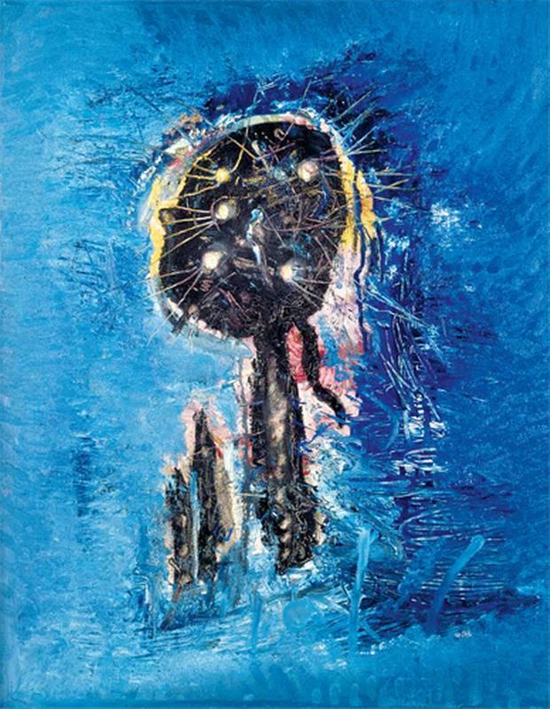 Wols, Blue Phantom, 1959 (Ludwig Museum, Cologne)
