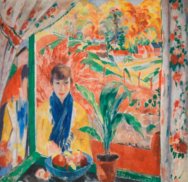 Rik Wouters, Autumn, 1913, oil on canvas, 135.5 × 140.5 cm (Antwerp, Koninklijk Museum voor Schone Kunsten Antwerpen. © Lukas - Art in Flanders vzw. Photograph: Hugo Maertens)