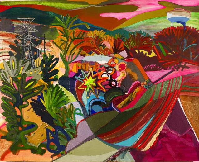 Karla Wozniak, PilotEastTennessee, oil on panel, 39x46, 2012 (courtesy of the ar