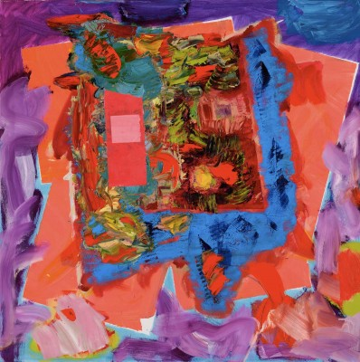 Gary Wragg, Abandonment & Doubt, 2006-9, oil on canvas, 100 x 100 cm (courtesy o