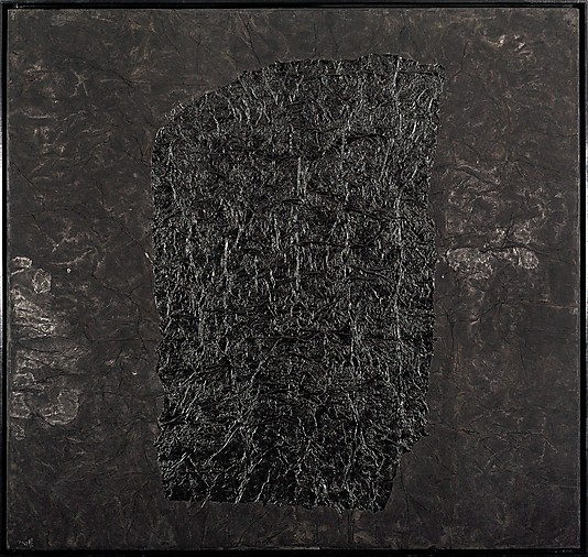 Yang Jiechang, 100 Layers of Ink, No.2, 1994 ink and acrylic on paper laid down
