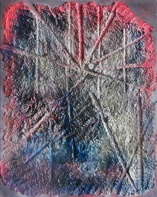 Yevgeniya Baras, Untitled 8081, 2012, Mixed media, 20 x 16 inches (courtesy of A