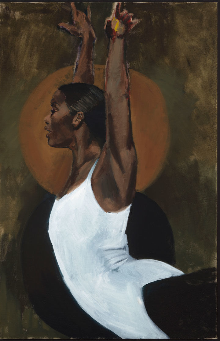 Lynette Yiadom-Boakye, Light Of The Lit Wick, 2017 (courtesy of Lynette Yiadom-Boakye/Cori-Mora, London/Jack Shainman Gallery)