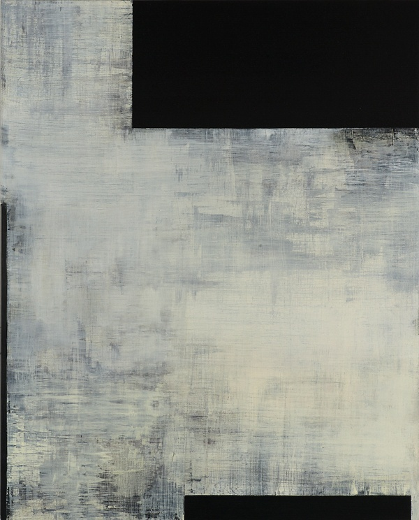 Tamar Zinn, At the still point 1, 2016, oil on dibond, 20 x 16 inches (courtesy