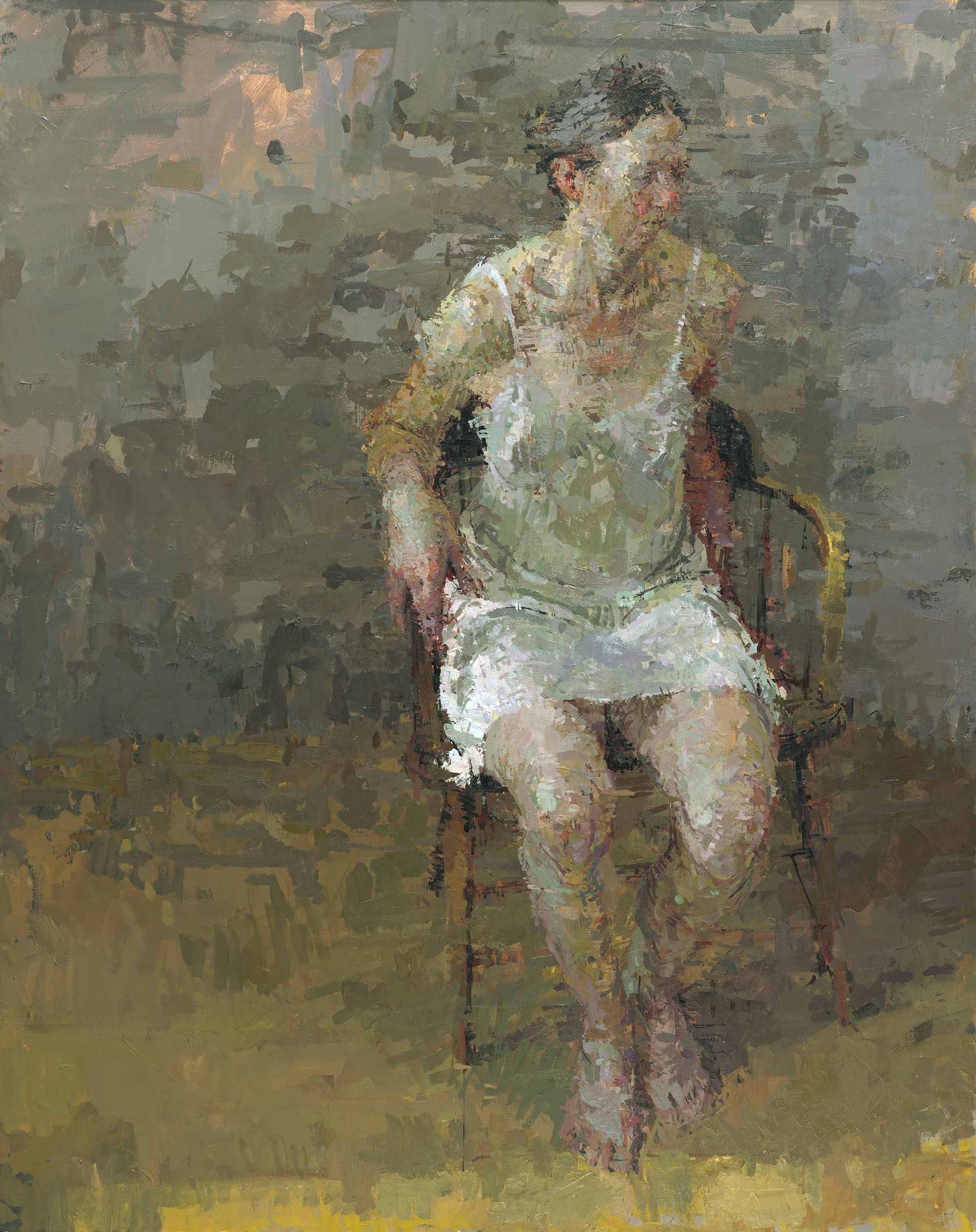 Ann Gale, Rachel, 2007, oil on canvas, 58 x 46 inches (courtesy of Ann Gale and Dolby Chadwick Gallery © Ann Gale)