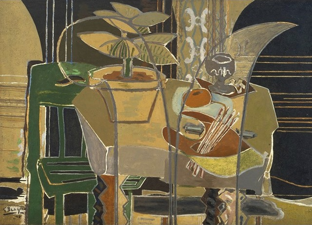 Braque at the phillips collection painters 39 table - La chambre bleue picasso ...