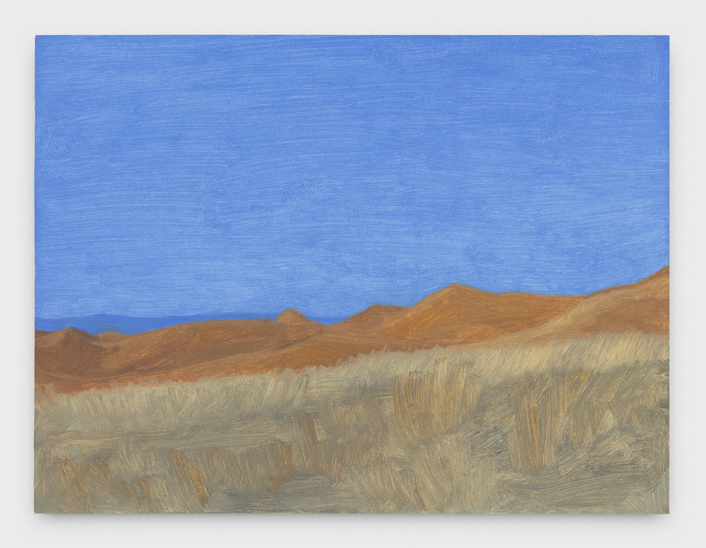 Eleanor Ray, Wyoming Hills, Dawn, 2018, oil on panel, 6.5 x 8.5 inches (courtesy of Nicelle Beauchene Gallery)