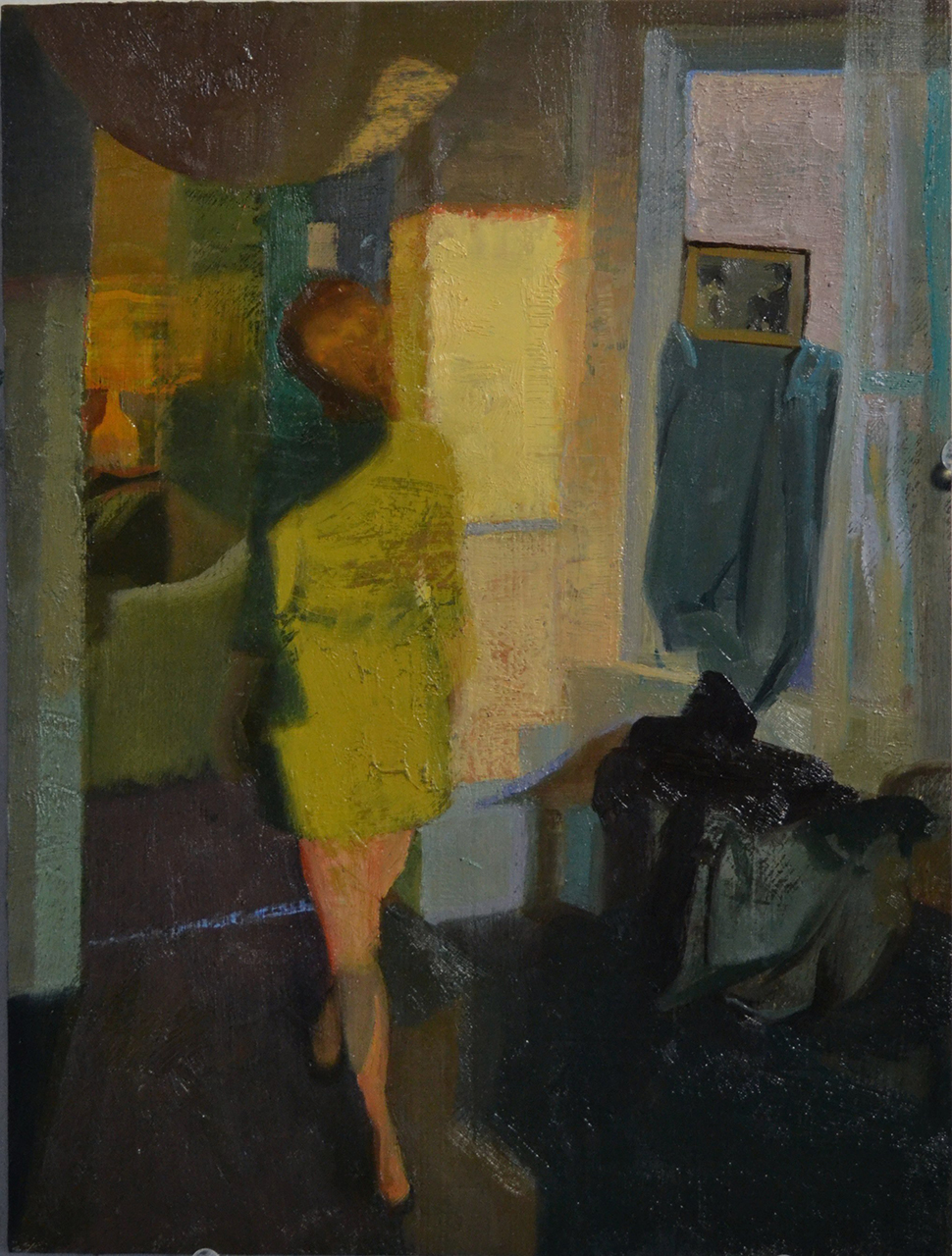 Emil Robinson, Catherine in Green, 2012-13 (courtesy of the artist)