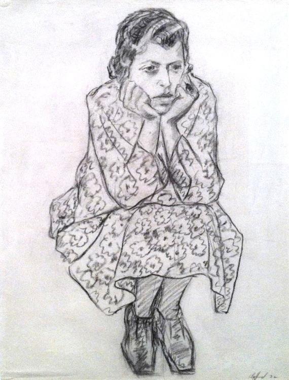 Clyfford Still Portrait