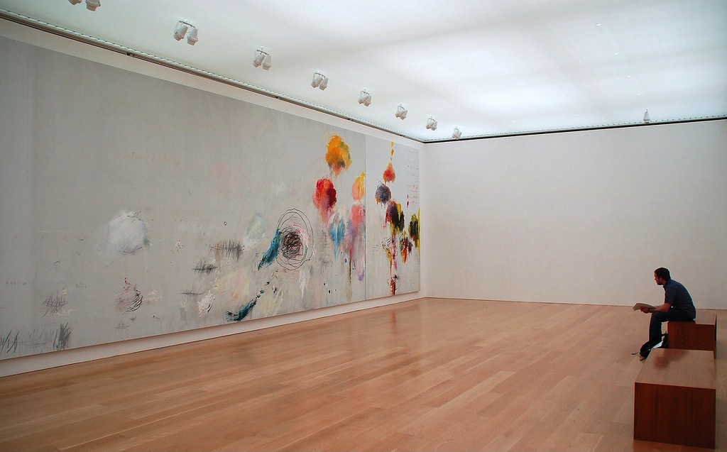 Cy Twombly, Say Goodbye Cattulus to the Shores of Asia Minor, installation Cy Twombly Gallery