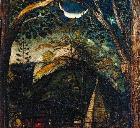 A Dark Night With Samuel Palmer Painters Table