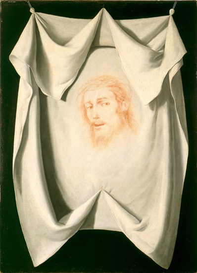 Francisco de Zurbarán, Veil of Veronica, c. 1630s. Museum of Fine Arts Houston