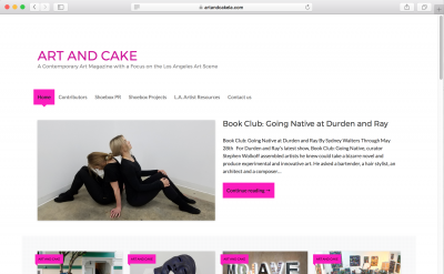 Art and Cake magazine