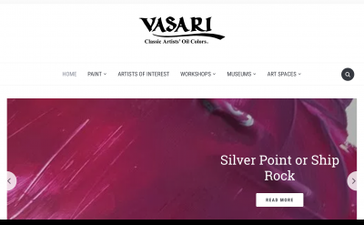 Vasari Classic Artist's Oil Colors blog