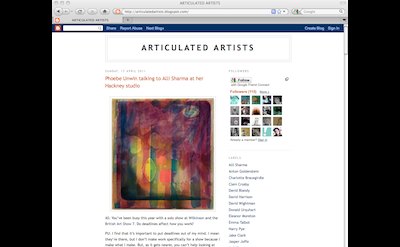 Articulated Artists blog