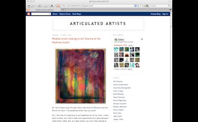 Articulated Artists blog