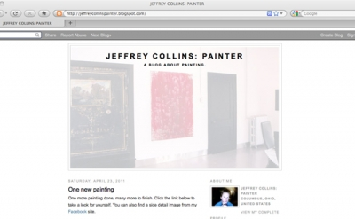 Jeffrey Collins: Painter Art Blog