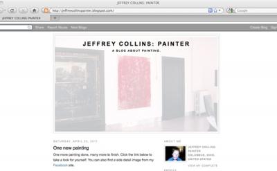 Jeffrey Collins: Painter Art Blog
