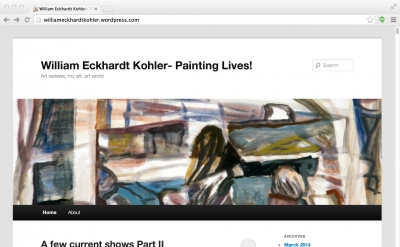 William Eckhardt Kohler - Painting Lives!