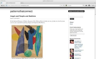 Patterns That Connect art blog