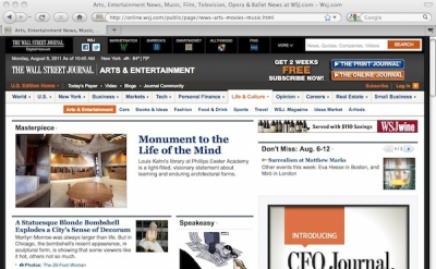 Wall Street Journal Arts