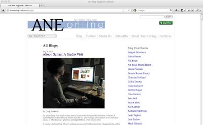 Art New England Art Blog