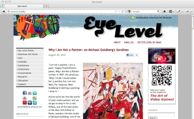 Eye Level art blog