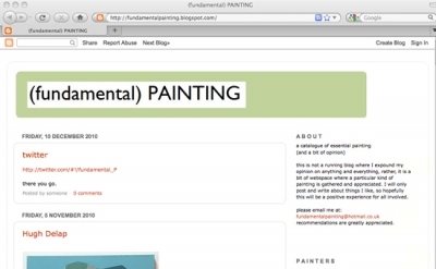 Fundamental Painting blog