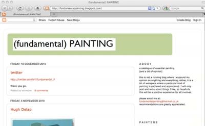 Fundamental Painting blog