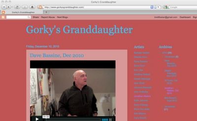Gorky's Grandaughter video blog