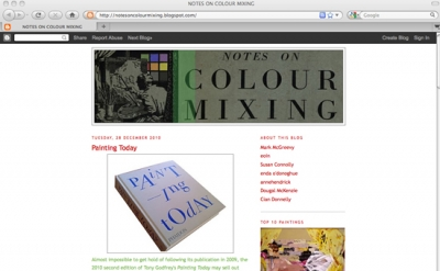 Notes on Color Mixing Art Blog