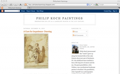 Philip Koch Paintings Art Blog