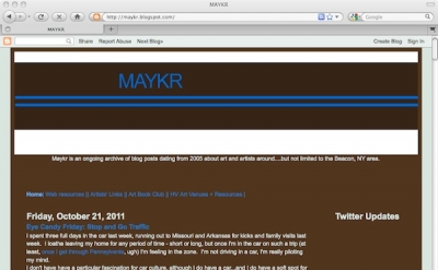 MAYKR art blog by Christopher Albert