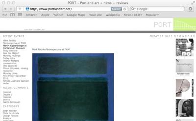 Port: Portland Art art blog
