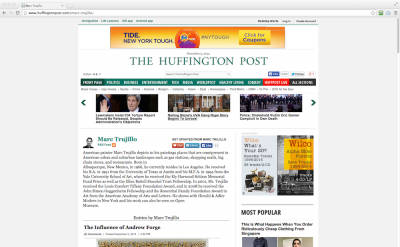 Marc Trujillo, Huffington Post