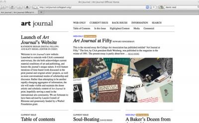 Art Jounal website