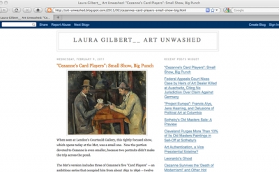 Laura Gilber, Art Unwashed