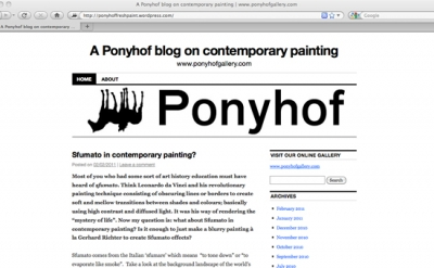 Ponyhof painting blog