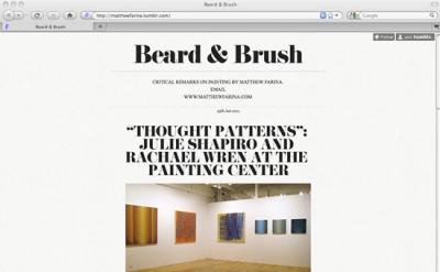 Beard and Brush artblog