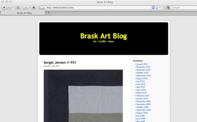 Brask Art Blog