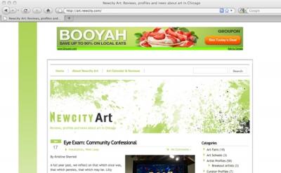 New City Art blog
