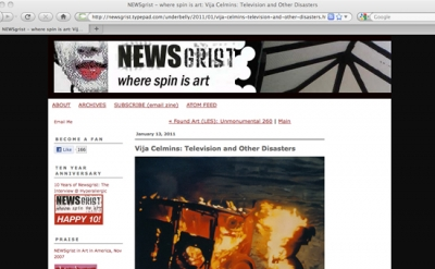 NEWSgrist art blog