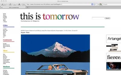 This is Tomorrow Art Magazine